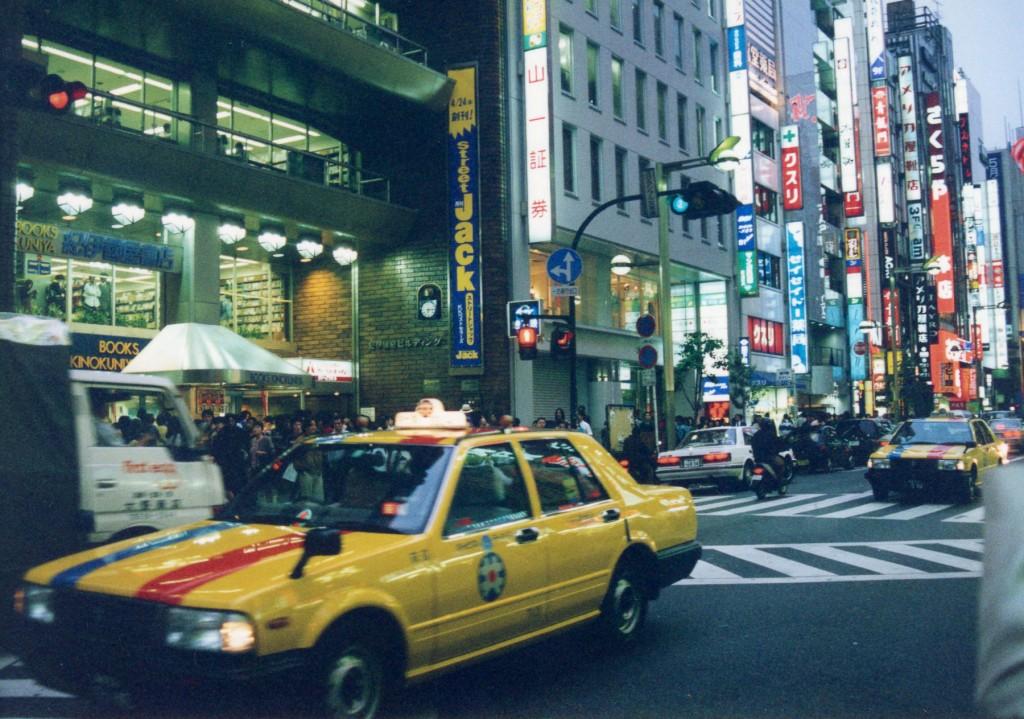 Shinjuku, ca. 1997.