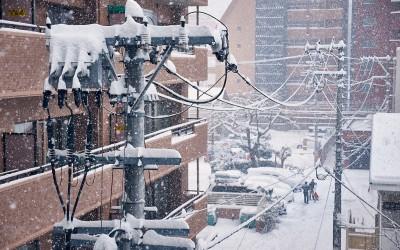 Sendai Snow